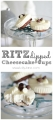Easy Ritz dipped cheesecake cups via www.lollyjane.com