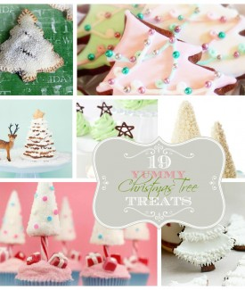 19 yummy Christmas tree treats roundup | Lolly Jane