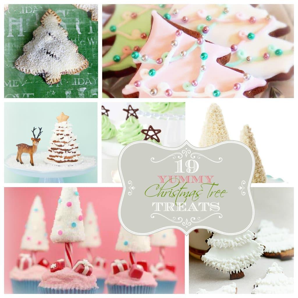19 yummy Christmas tree treats roundup | Lolly Jane