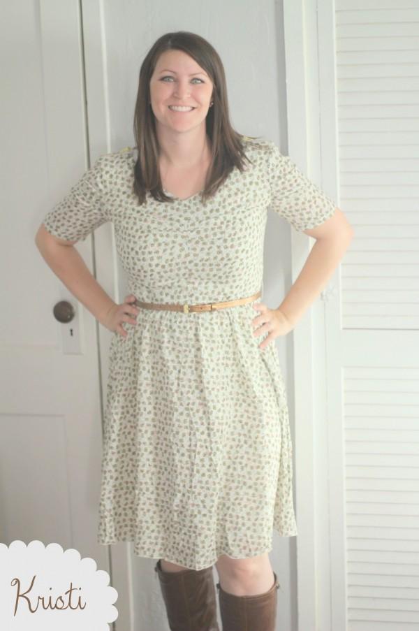 Kristi DEB dress