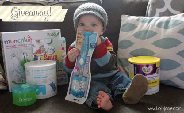 Perrigo Nutritional baby pack giveaway