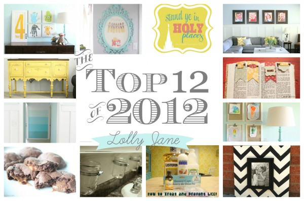 Top 12 posts of 2012 Lolly Jane blog