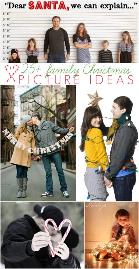 halloween photo session ideas - 25 Cute Family Christmas Picture Ideas