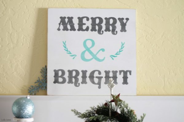 decorating with ornaments at lollyjane