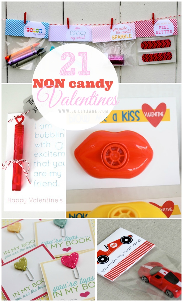 21 non candy Valentines