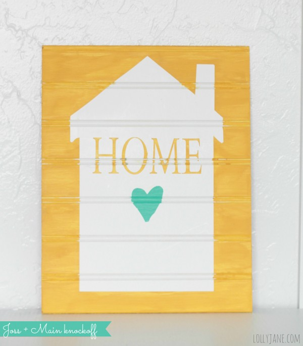 Home sign decor