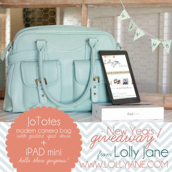 LollyJane JoTotes iPad Mini | giveaway