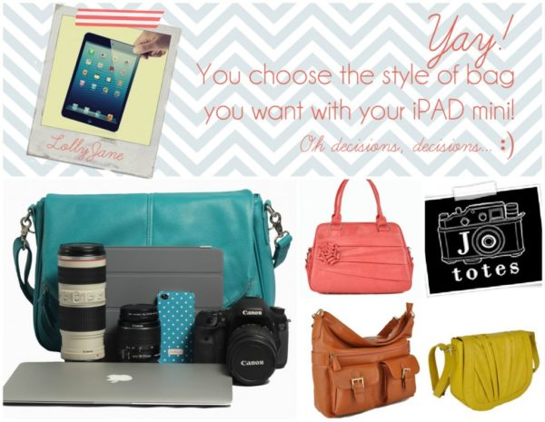 Jo Totes iPad mini giveaway LollyJane