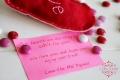 Bursting with love heart holder | Lolly Jane
