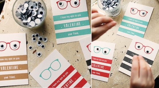 Googly eyes. + 21 non candy Valentine ideas!