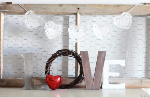 rustic LOVE letters lolly jane