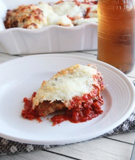 Grilled chicken parmesan | Lolly Jane #cookclassico