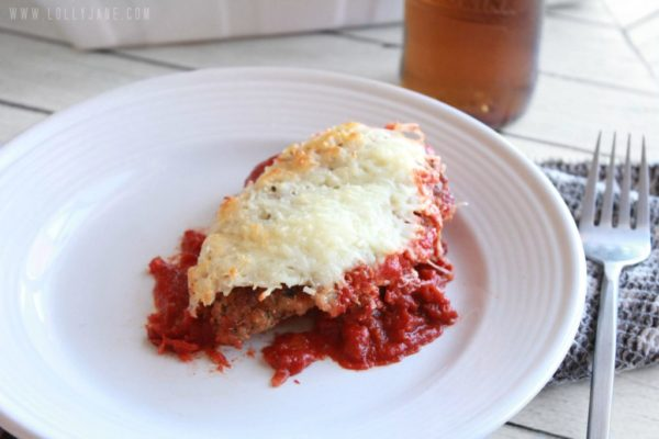 Grilled chicken parmesan by Lolly Jane #cookclassico