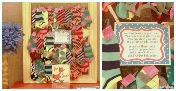 New-Beginnings-Dr-Seuss-decorating-ideas-sock-favor