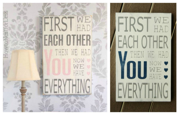 Word Whipped | First we had each other... sign