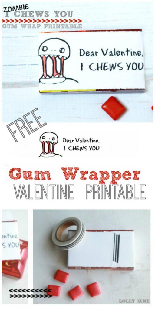 I Chews You > free printable!