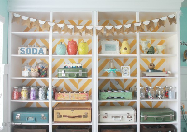 herringbone-bookcase-craft-room-storage-details