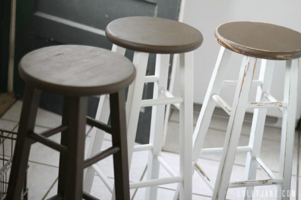 kitchen-barstool-makeover-DIY-process-by-Lolly-Jane