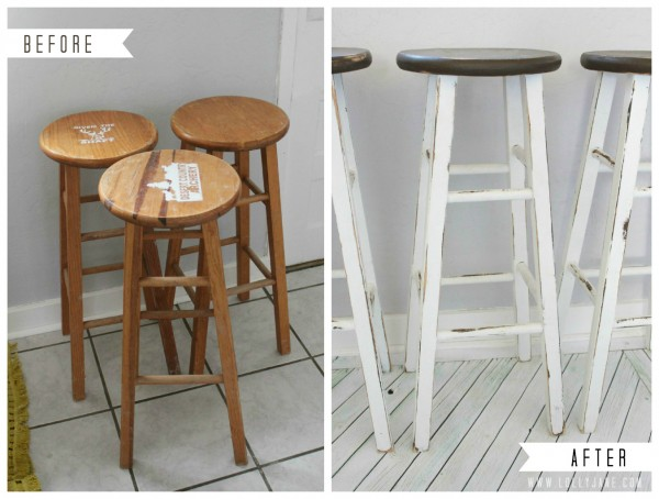 furniture makeover kitchen barstools