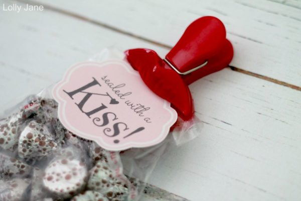 Sealed With A Kiss Valentine Lips Clip Hershey
