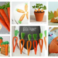 18 cute carrot decor and treat ideas! #easterdecor #springideas