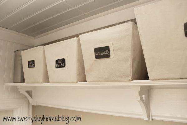 How to fake expensive shelves