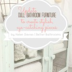 Stylish Bathroom Furniture Tips via @LollyJaneBlog