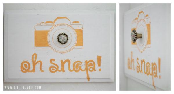 Oh Snap! camera bag holder #camerabagholder #lollyjane