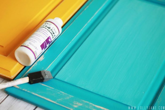 How to use clear chalkboard coating #diy #howto