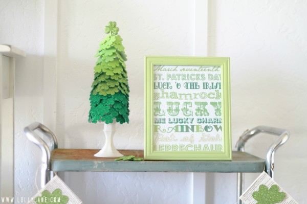 St Patricks Day decor #stpatricksday #stpatricksdecor
