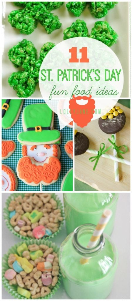 11 St Patrick's Day food ideas |lollyjane.com #stpatricksday #food