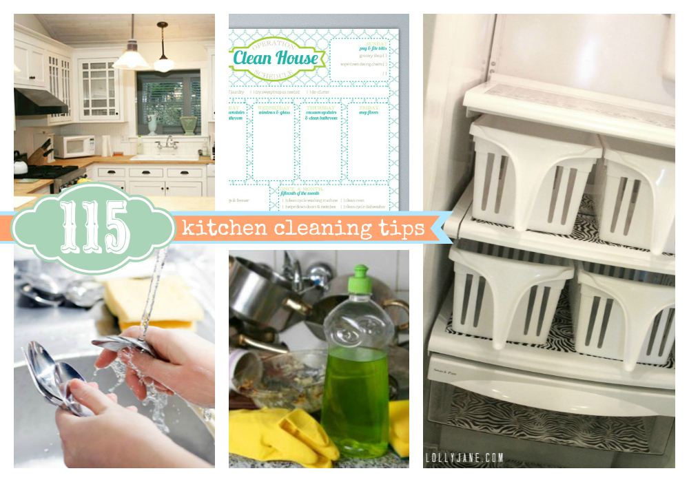 Kitchen Cleaning Tips 115 Kitchen Cleaning Tips 187 Lolly Jane