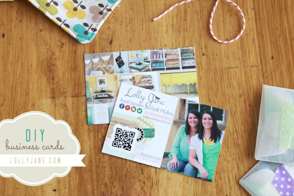 DIY Creative Business Cards