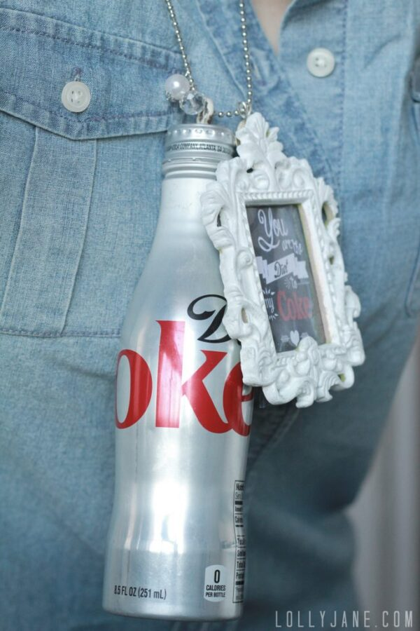 Diet Coke necklace | www.lollyjane.com