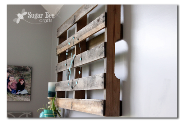 Pallet clock | Sugarbee Crafts