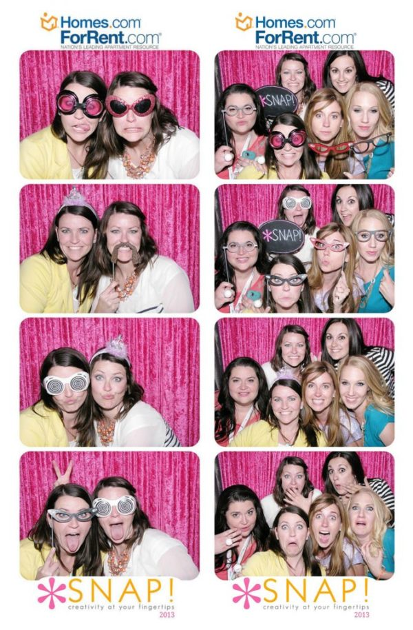 Lolly Jane meets photo booth at SNAP conference 2013