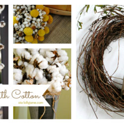 Decorating with Cotton
