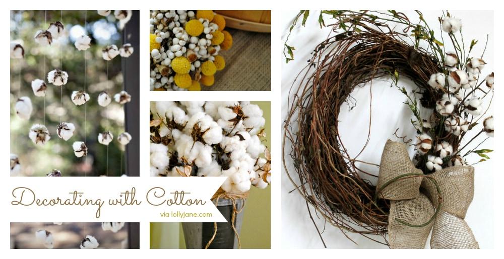 Decorating with Cotton & Decorating with Cotton - Lolly Jane
