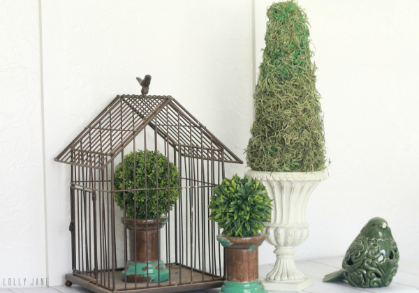 Easy DIY topiary