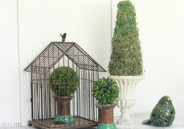 Easy DIY topiary