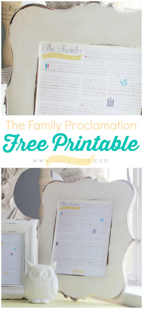 image relating to The Family a Proclamation to the World Free Printable identified as the loved ones proclamation absolutely free printable