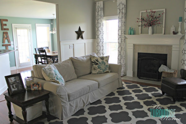 Living room reveal | The Turquoise Home
