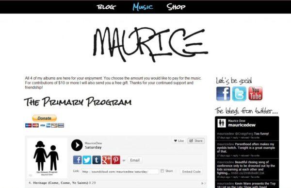 Maurice music