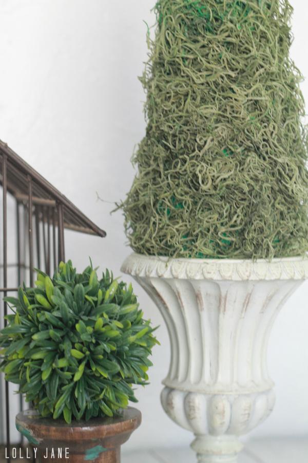 Quick DIY topiary!