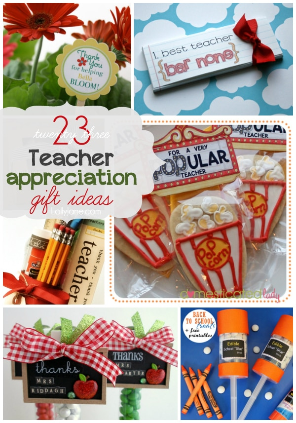 23 teacher appreciation gift ideas negle Image collections