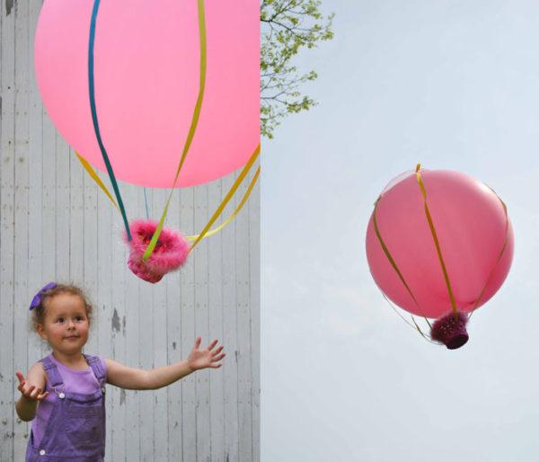 DIY hot air balloon #summerboredombuster