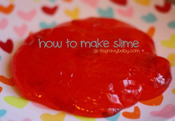 DIY slime #summerboredombuster