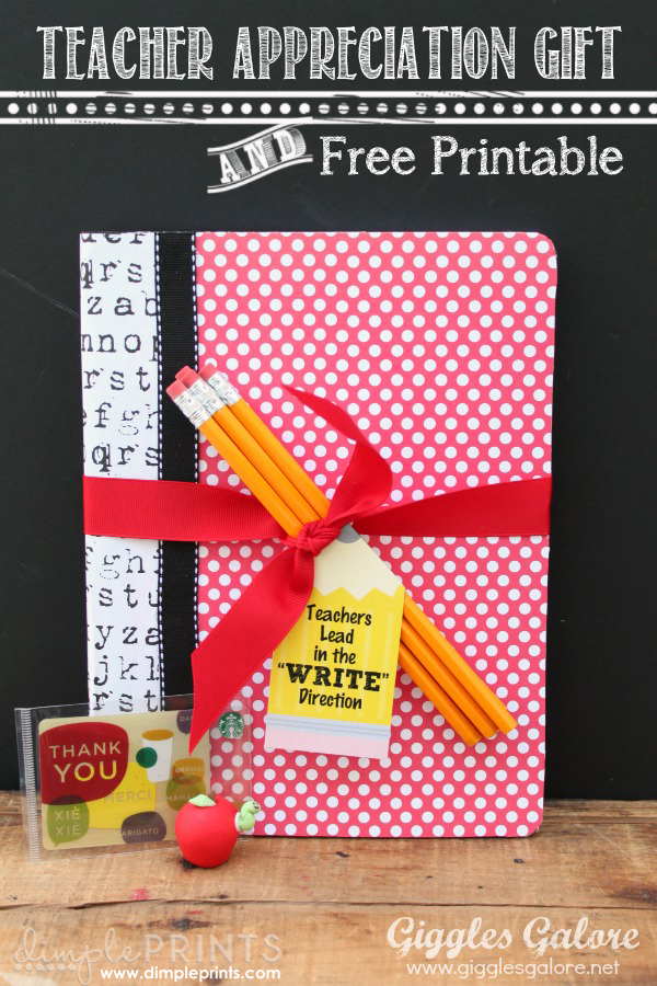 Giggles Galore teacher gift via Lolly Jane #teacherappreciation
