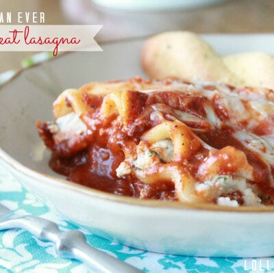 Best ever cheesy meat lasagna recipe
