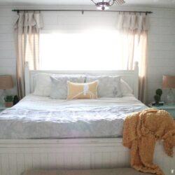 Coastal Master Bedroom |Reveal